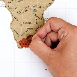 Mapa zdrapywanka