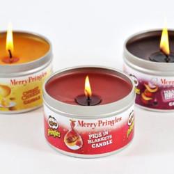 Świąteczne świeczki o nietypowym zapachu