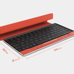 Touchpad i klawiatura w jednym