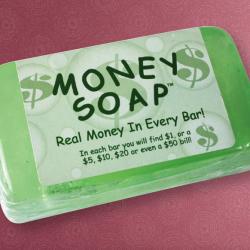 Pieniądze w mydle