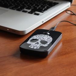 Mysz komputerowa czaszka