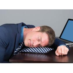Krawat idealny do drzemki