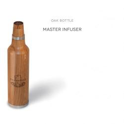 Butelka z dębowego drewna