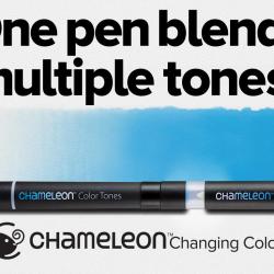 Pisaki umożliwiające uzyskiwanie różnych odcieni koloru