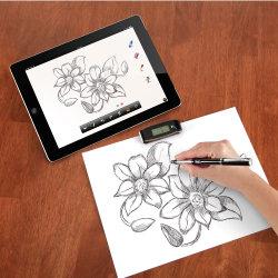 Długopis przenoszący klasyczny rysunek w format cyfrowy