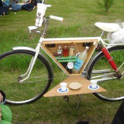 Piknikowy schowek w rowerze