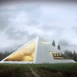 Dom jak piramida