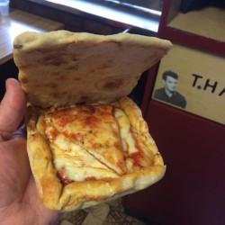 Pudełko zaręcznynowe z pizzy