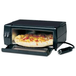 Opiekacz do pizzy w samochodzie