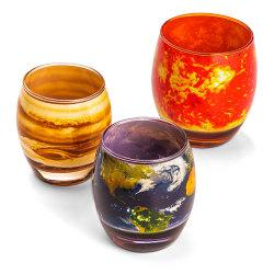 Zestaw szklanek inspirowany planetami