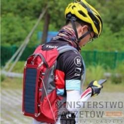 Plecak Solarny 7W z Bidonem