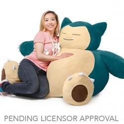 Wielki pokemon do przytulania