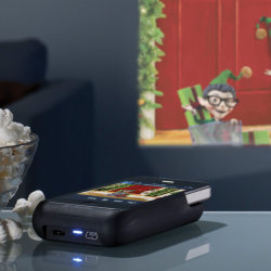 Kieszonkowy projektor do iPhone?a
