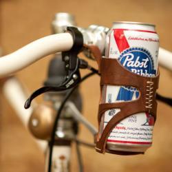 Uprząż dla puszki na rower