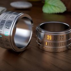 Zegarek w pierścieniu