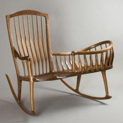 Kołyska i fotel w jednym