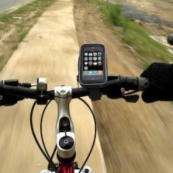 Uchwyt na rower na sprzęt przenośny