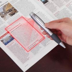Skaner w długopisie