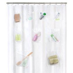 Zasłona prysznicowa z kieszonkami