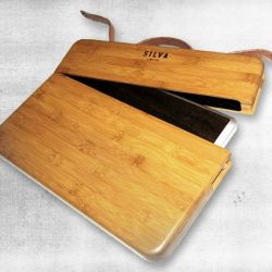 Drewniany pokrowiec na Mac Pro