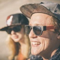 Elastyczne okulary przeciwsłoneczne