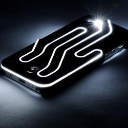Etui ze światłem dla iPhone'a