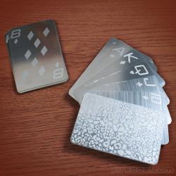 Karty ze stali nierdzewnej