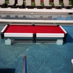 Bilard w basenie