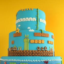 Tort w stylu Mario Bros