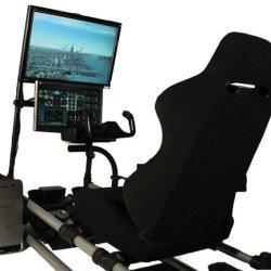 Symulator lotu ? rozbudowany fotel