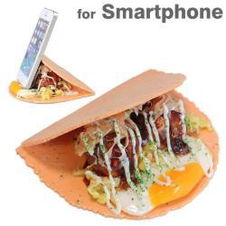 Smartfon wśród jedzenia