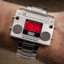 Zegarek w muzycznym stylu