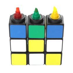 Markery inspirowane kostką Rubika