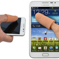 Nakładka na kciuka do obsługi smartfona