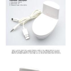 Głośnik w kształcie toalety