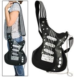 Torebka w formie gitary