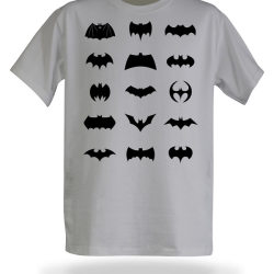 Koszulka z logo Batmana