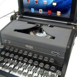 Maszyna do pisania na komputerze