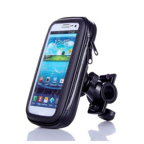 Uniwersalny uchwyt rowerowy z wodoodpornym etui do telefonów