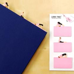 Karteczki samoprzylepne dla miłośników Jogi