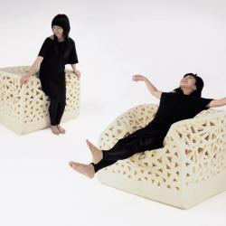 Oddychający fotel od Yu-Ying Wu