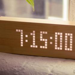 Zegar z opcją wiadomości