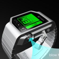 Zegarek z ekranem dotykowym